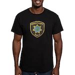 Reno Sheriff Men's Fitted T-Shirt (dark)