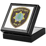 Reno Sheriff Keepsake Box