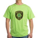 Reno Sheriff Green T-Shirt