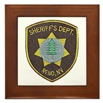 Reno Sheriff Framed Tile