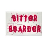 Bitter Boarder Rectangle Magnet