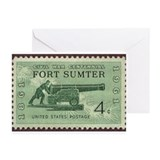 Fort Sumter Civil War Greeting Cards (Pk of 10