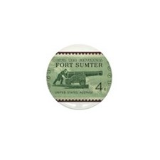 Fort Sumter Civil War Mini Button (10 pack)