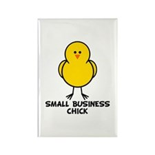 Small Business Chick Rectangle Magnet (10 pack)