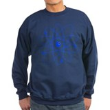Atoms (blue) Sweatshirt