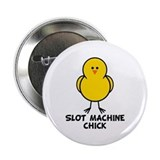 "Slot Machine Chick 2.25"" Button"