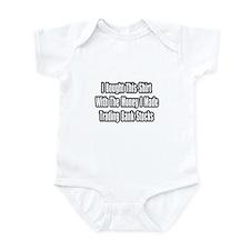 """""""Trading Bank Stocks"""" Infant Bodysuit"""