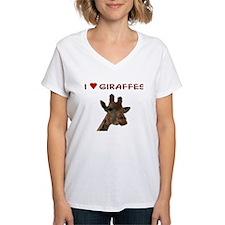 I Heart Giraffes Shirt