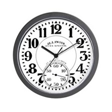 Illinois Bunn Special 1 Wall Clock