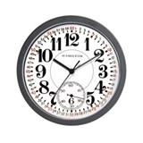 Hamilton Railroad Pocket Watch Wall Clock