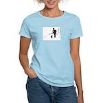 Barack Obama + Bo Running Women's Light T-Shirt