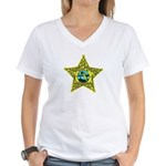 Florida Sheriff Women's V-Neck T-Shirt