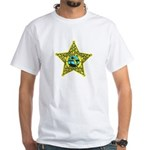 Florida Sheriff White T-Shirt