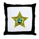 Florida Sheriff Throw Pillow