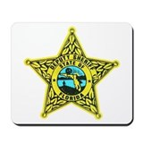Florida Sheriff Mousepad