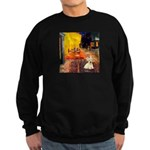 Cafe / Scottie (w) Sweatshirt (dark)