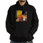 Cafe / Scottie (w) Hoodie (dark)