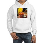 Cafe / Scottie (w) Hooded Sweatshirt