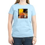 Cafe / Scottie (w) Women's Light T-Shirt