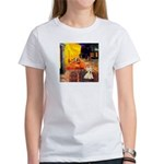 Cafe / Scottie (w) Women's T-Shirt