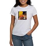 Cafe / Scottie (w) Women's T-Shirt