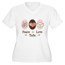 Peace Love Tofu T-Shirt