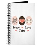 Peace Love Tofu Journal