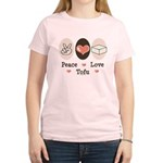 Peace Love Tofu Women's Light T-Shirt