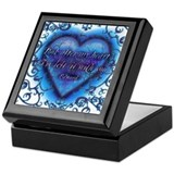 Edward's Heart-Twilight Keepsake Box White Back