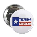 Texan for Secession 2.25&quot; Button (10 pack)