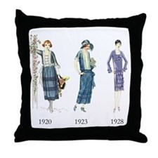 1920s Throw Pillow