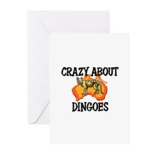Crazy About Dingoes Greeting Cards (Pk of 10)
