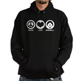 Peace Love Baseball Hoody