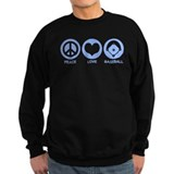 Peace Love Baseball Jumper Sweater