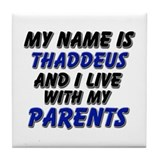 my name is thaddeus and I live with my parents Til