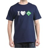 I Love Baseball T-Shirt