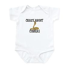 Crazy About Cobras Infant Bodysuit
