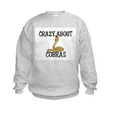 Crazy About Cobras Sweatshirt