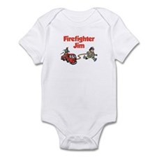 Firefighter Jim Infant Bodysuit