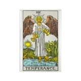 """Temperance"" Rectangle Magnet"