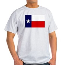 Texas Flag T-Shirt (Grey)