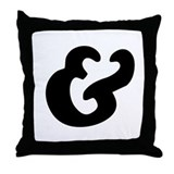 Large Symbol & Throw Pillow