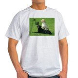 Labrador Retrievers Ash Grey T-Shirt