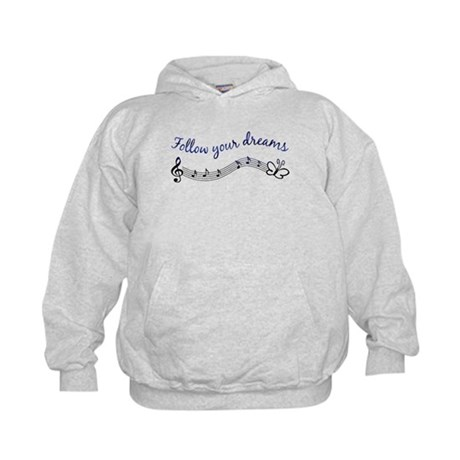 Follow Your Dreams Kids Hoodie