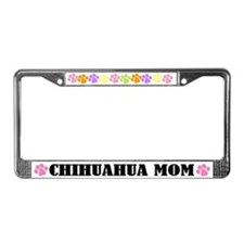 Chihuahua Mom License Frame