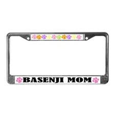 Cute Basenji Mom Dog License Frame