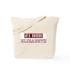 Elizabeth #1 Mom Tote Bag
