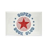 Super Book Club Rectangle Magnet