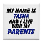 my name is tasha and I live with my parents Tile C