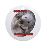 Cool Dogs for Cool People Ornament (Round)